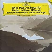 グリーグ Grieg ペール・ギュント組曲 Peer Gynt suites シベリウス Sibelius 組曲 ペレアスとメリザンド Pelléas et Mélisande DGG:2532 068 DE Original