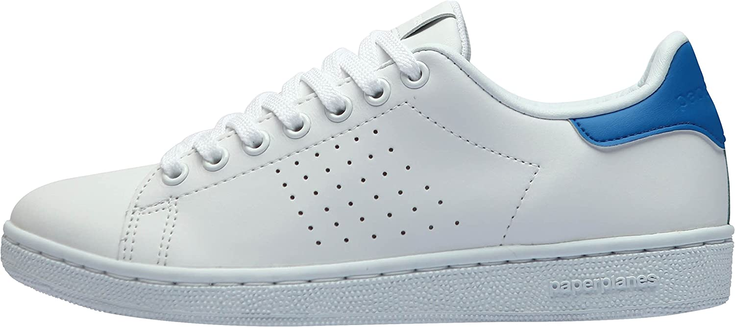 Paperplanes-1361 Unisex Classic Leather Fashion Sneakers shoes