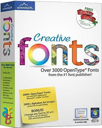 Amazon com: CD/DVD - Fonts / Home Publishing: Software