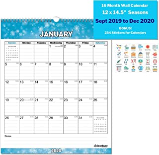 Best monthly wall calendars Reviews