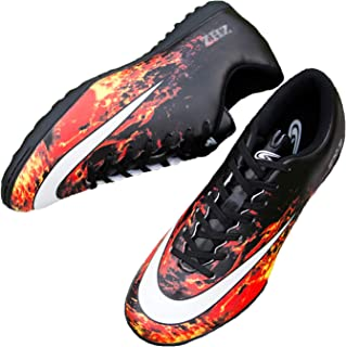 Tiebao Youth Kids Artificial-Turf TF Soccer Shoes Indoor Football Training (Little Kid/Big Kid)