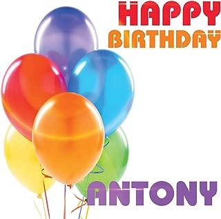 Best happy birthday antony Reviews