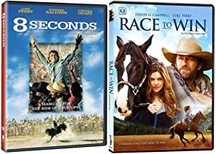 8 Seconds + Race To Win: Luke Perry Family Country Movie DVD Collection - 2 Films