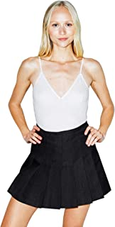 American Apparel Women's Gabardine Tennis Skirt