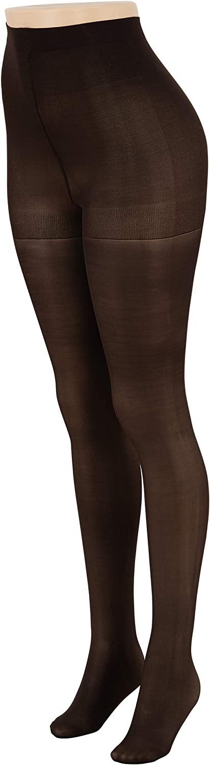 LISSELE Pantyhose Medium Support, Control Top Tights for Women, Semi Opaque