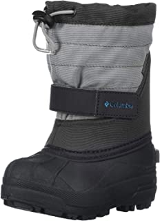 Columbia Youth Powderbug Plus Winter Boot (Little Kid/Big Kid) Boys