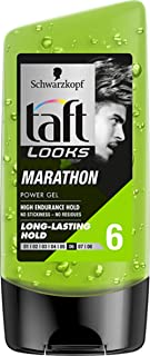 Schwarzkopf Taft Looks Marathon Power Gel - Long Lasting Hold 6 (150ml)