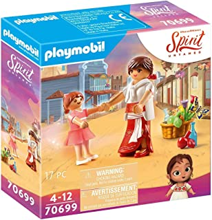 PLAYMOBIL DreamWorks Spirit Untamed 70699 Young Lucky Mum Milagro, for Children Ages 4+