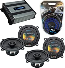 $196 » Compatible with Toyota Avalon 1995-1999 Factory Speaker Replacement Harmony Bundle (2) R5 & HA-A400.4 Amp