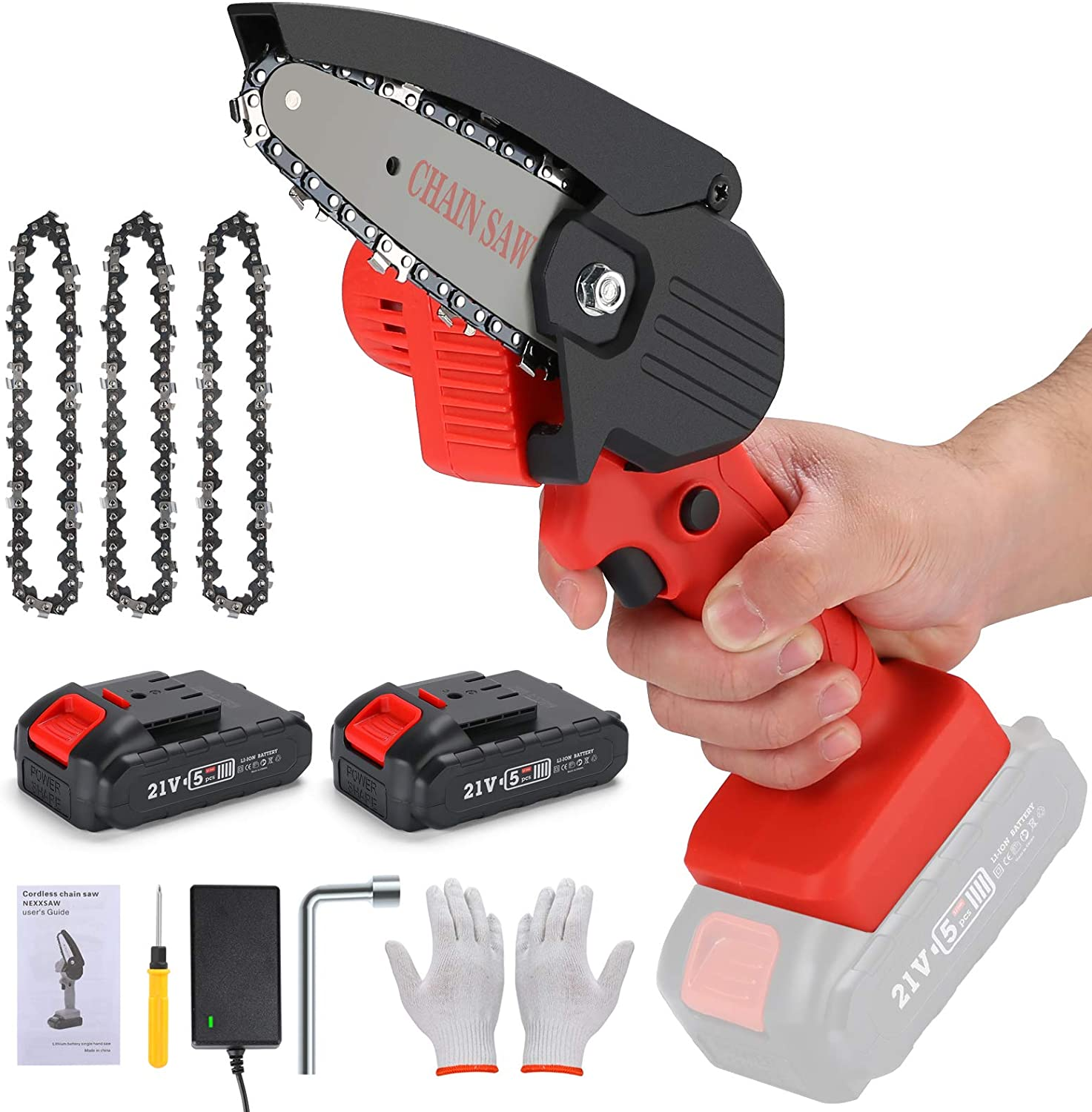 Mowers & Outdoor Power Tools Chainsaws One-Hand Pruning Shears ...