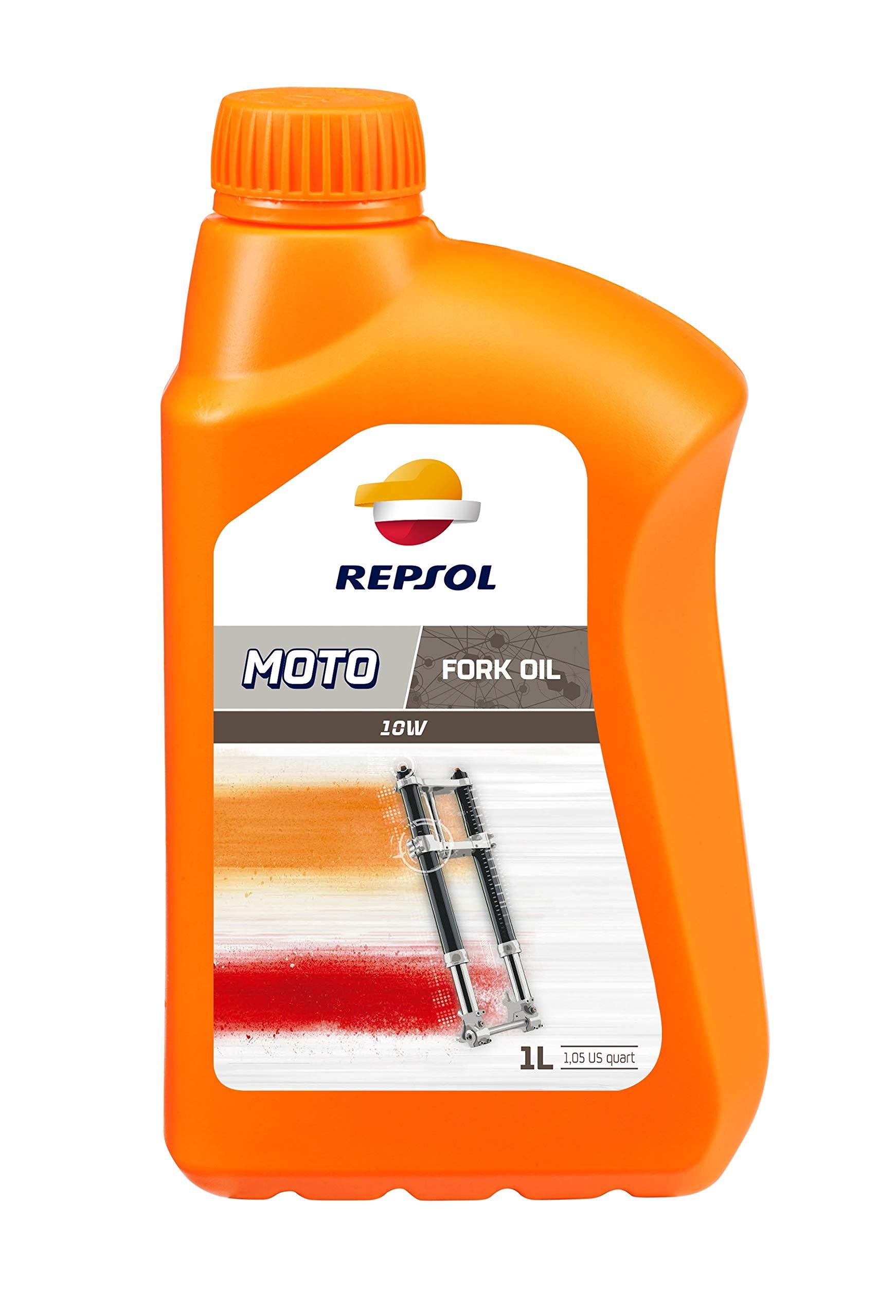 Repsol RP172X51 Moto Fork Oil 10W Aceite de Motor, 1 L: Amazon.es: Coche y moto