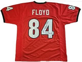 Leonard Floyd Georgia Bulldogs Autographed Custom Jersey w COA