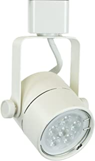 Direct-Lighting 50154 White GU10 Line Voltage Track Lighting Head - No Bulb