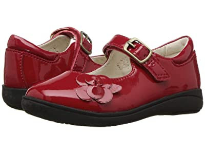Stride Rite Ava (Toddler) (Red Patent) Girls Shoes