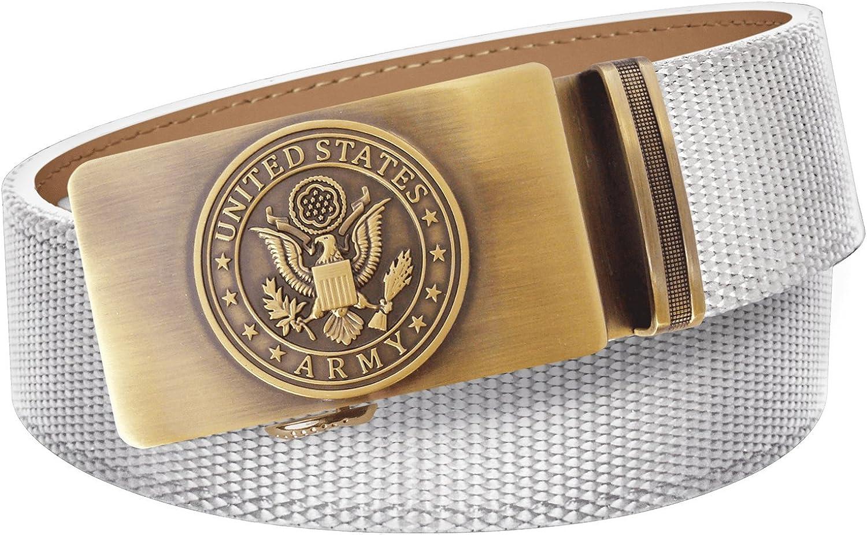 U.S. Army White Max Soldering 75% OFF Nylon Weave Belt Slide