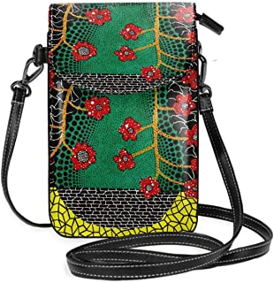 Yayoi Kusama Art Cell Phone Purse Wallet For Women Shopping Travel Small Crossbody Bag