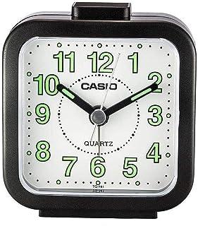 Casio TQ-141-1E Desk Alarm Clock, Black