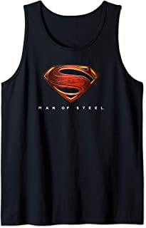 Superman Man of Steel New Logo Tank Top