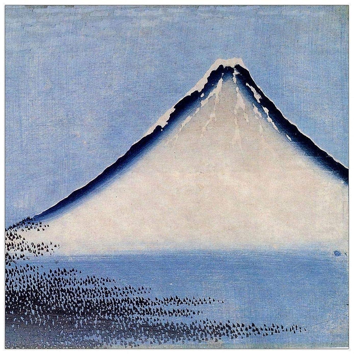 ArtPlaza TW90071 Hokusai Katsushika-Mount Fuji [2] Decorative Panel, 23.5x23.5 Inch, Multicolored
