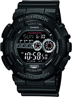 Men's GD100-1BCR G-Shock X-Large Black Multi-Functional...