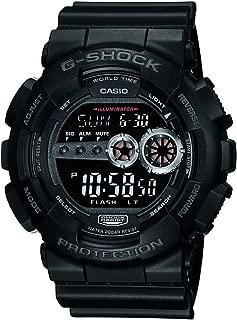 Casio G-Shock Digital Mens Black X-Large Watch GD-100-1B GD-100-1BDR