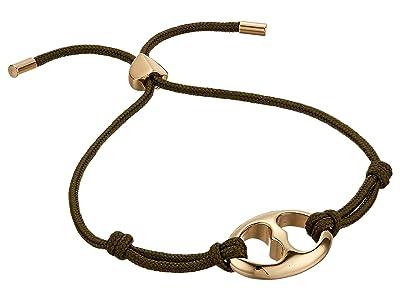Kate Spade New York Duo Link Cord Bracelet (Seaweed) Bracelet