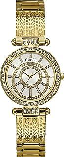 ساعة للنساء بمينا وسوار من الستانلس ستيل من جيس- W1008L2
