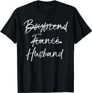 Groom's Wedding Gift Not Boyfriend Fiance Marked Out Husband T-Shirt