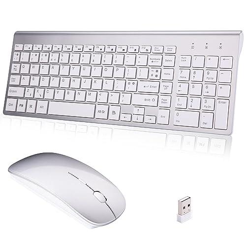 White Wireless Keyboard: Amazon co uk