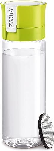 BRITA 4006387061265 Fill&Go Bouteille Filtrante Plastique Vert 7,2 x 7,8 x 24,5 cm