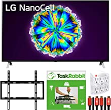 $899 » LG 55-inch 55NANO85UNA Nano 8 Series Class 4K Smart UHD NanoCell TV with AI ThinQ (2020) Cinema HDR Bundle with TaskRabbit Installation Services + Deco Gear Wall Mount + HDMI Cables + Surge Adapter