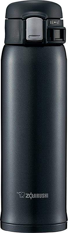 Zojirushi SM SD48BC Stainless Steel Mug 16 Ounce Silky Black
