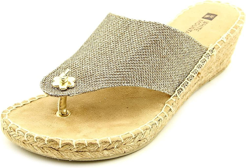 White Mountain Women's Baywatch Espadrille Wedge Sandals