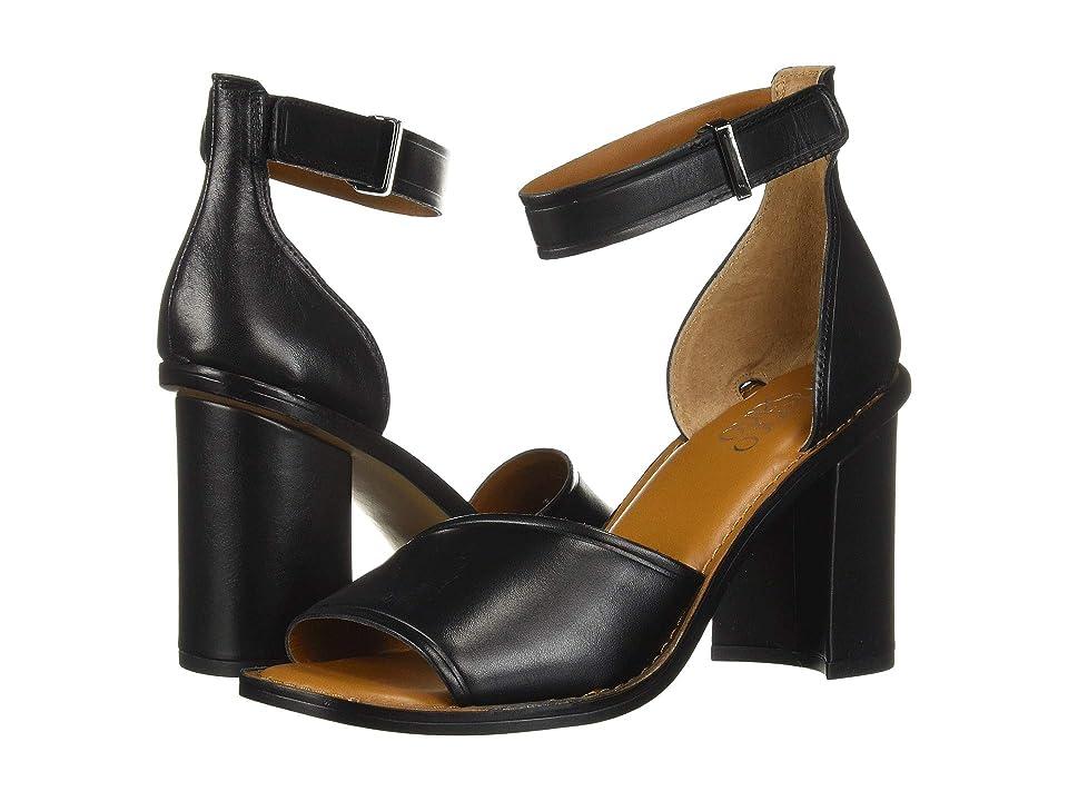 Franco Sarto Caia (Black Leather) Women