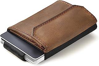 JAIMIE JACOBS Minimalistic Wallet Nano Boy Pocket Slim Wallet for Minimalists Credit Card Holder with Coin Pocket for Men ...