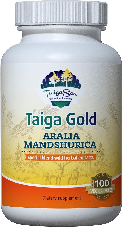 TAIGASEA Aralia Max mart 65% OFF Mandshurica Wild-Harvested Herbal Extract Blend