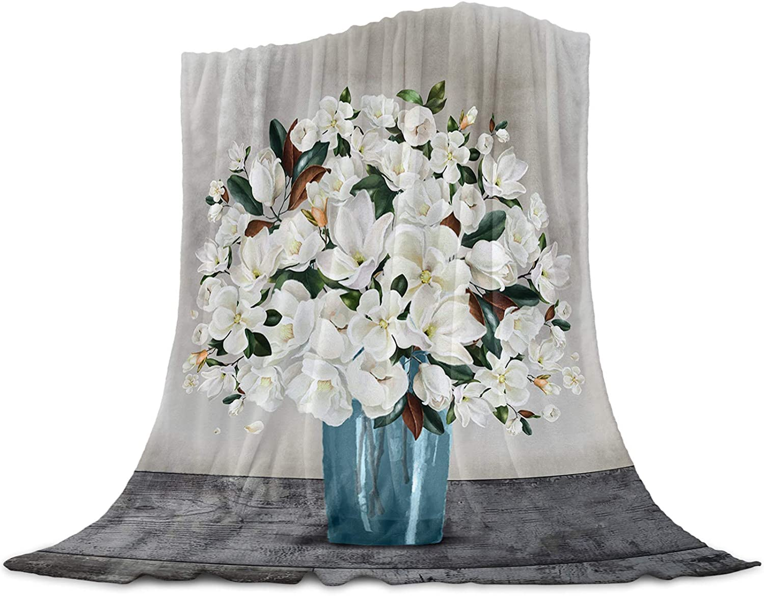 LEO BON Soft Warmer Inventory cleanup selling sale Lowest price challenge Throw Blankets Magn All Season for Vase with