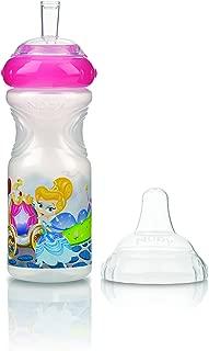 Areoplane Nuby Flip It pour enfant Tasse avec paille en silicone 12 18/m 300/ml sans BPA