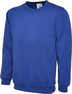 UC205 - Royal - Med - 260GSM Olympic Sweatshirt