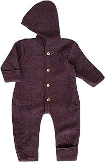 wool baby snowsuit