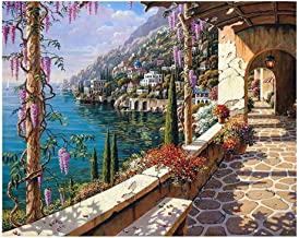 5D Resin Diamond Patio Design Embroidery Painting DIY Kit