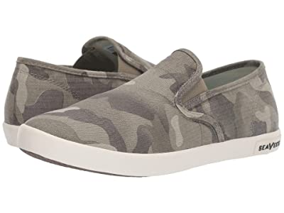 SeaVees Baja Slip-On Saltwash (Sage Camo) Women
