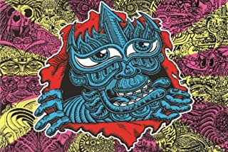 Chris Dyer PC Ripper Trippy Psychedelic Art Print Poster 36x24 inch