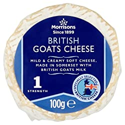 Morrisons Somerset Goats Cheese, 100g