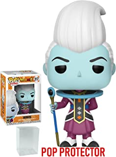 Funko Pop! Anime: Dragon Ball Super - Whis Vinyl Figure (Bundled with Pop BOX PROTECTOR CASE)