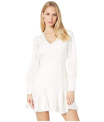 Bardot Priano Trim Dress (Ivory) Women