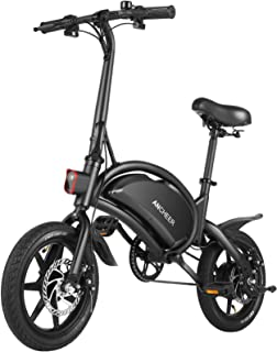 ANCHEER an-EB5 Plus Folding Electric Bike 350W/500W Electric Commuter Bicycle, 20MPH..