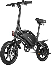 ANCHEER Electric Bike 500W Electric Commuter Bike 14'' Electric Bicycle, 20MPH Adults Ebike and Removable 48V 7.5Ah Batter...