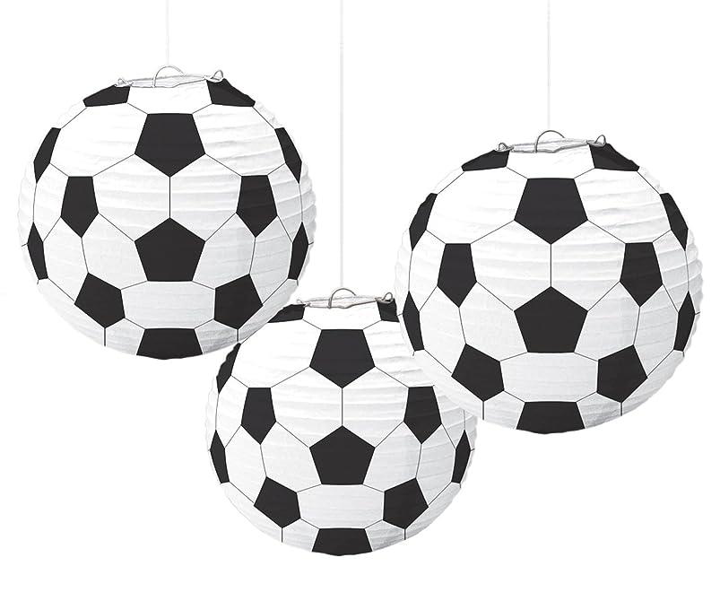 amscan Soccer Paper Lanterns, Party Decoration bsjkvmmy472581