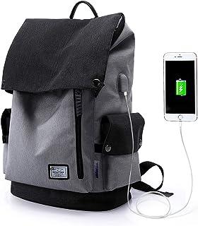 WindTook Mochila Portatil para Mujer y Hombre Mochila Ordenador Portatil 15.6 Pulgadas Mochila Escolar Multiusos Impermeab...